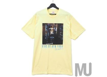 Supreme King of New York Tee Pale Yellowの写真