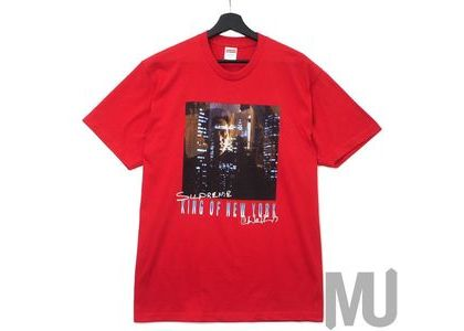 Supreme King of New York Tee Redの写真