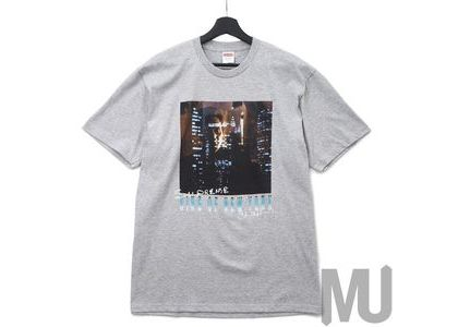 Supreme King of New York Tee Heather Greyの写真