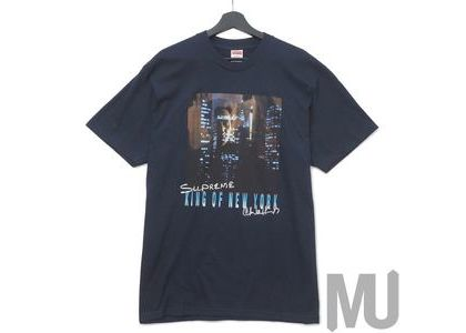 Supreme King of New York Tee Navyの写真