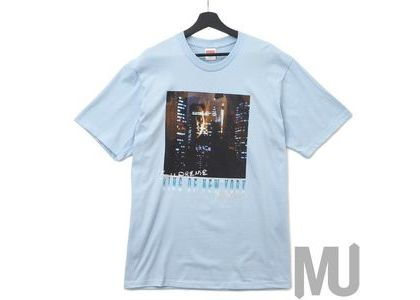 Supreme King of New York Tee Light Blueの写真