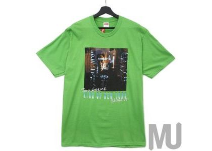 Supreme King of New York Tee Greenの写真