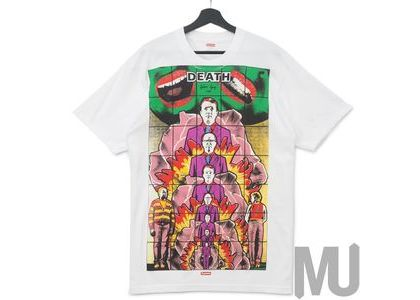 Supreme Gilbert & George LIFE Tee Whiteの写真