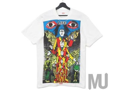 Supreme Gilbert & George DEATH Tee Whiteの写真