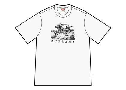Supreme Riders Tee Whiteの写真