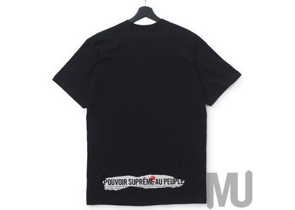 Supreme Headline Tee Blackの写真