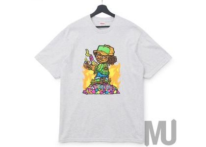 Supreme Molotov Kid Tee Ash Greyの写真