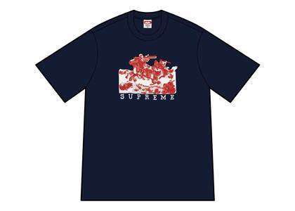 Supreme Riders Tee Navyの写真