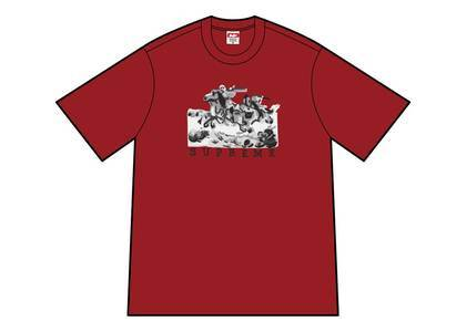 Supreme Riders Tee Redの写真