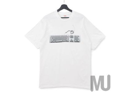 Supreme Keyboard Tee Whiteの写真