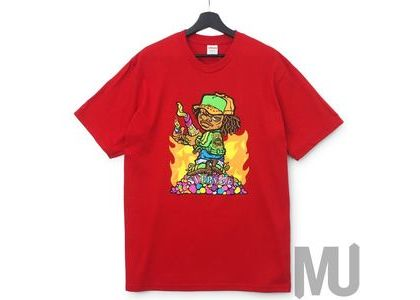 Supreme Molotov Kid Tee Redの写真