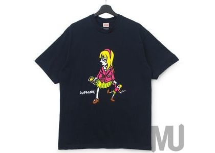 Supreme Suzie Switchblade Tee Navyの写真