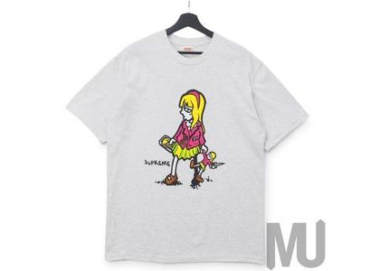 Supreme Suzie Switchblade Tee Ash Greyの写真