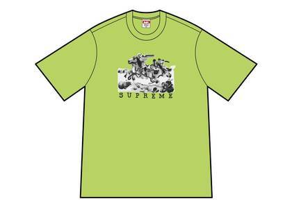 Supreme Riders Tee Neon Greenの写真