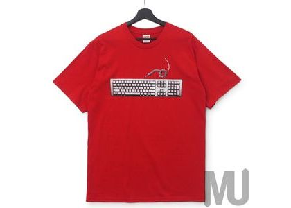 Supreme Keyboard Tee Redの写真