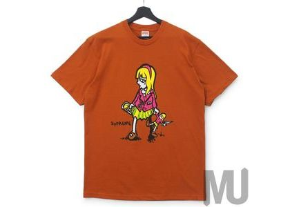 Supreme Suzie Switchblade Tee Rustの写真