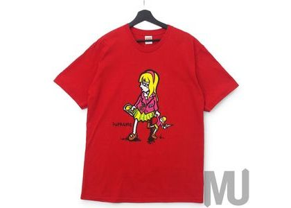 Supreme Suzie Switchblade Tee Redの写真