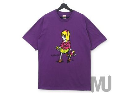 Supreme Suzie Switchblade Tee Purpleの写真