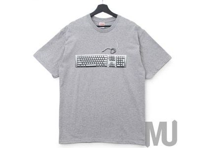 Supreme Keyboard Tee Heather Greyの写真