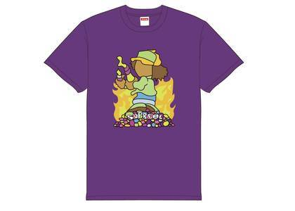 Supreme Molotov Kid Tee Purpleの写真