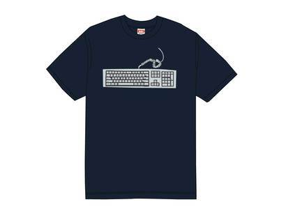 Supreme Keyboard Tee Navyの写真