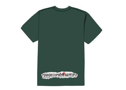 Supreme Headline Tee Dark Greenの写真