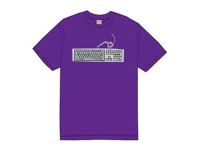 Supreme Keyboard Tee Purpleの写真