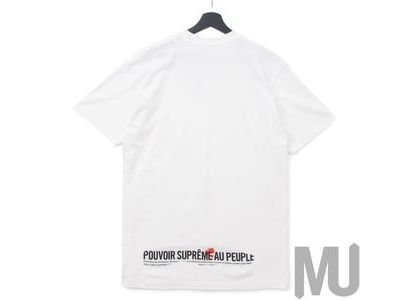Supreme Headline Tee Whiteの写真