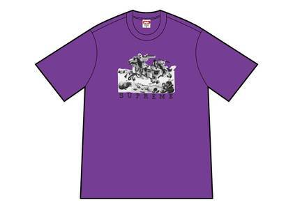 Supreme Riders Tee Purpleの写真
