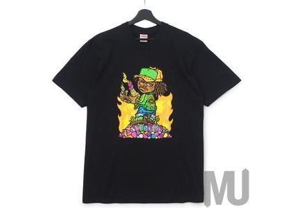 Supreme Molotov Kid Tee Blackの写真