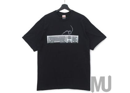 Supreme Keyboard Tee Blackの写真