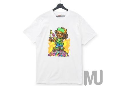 Supreme Molotov Kid Tee Whiteの写真