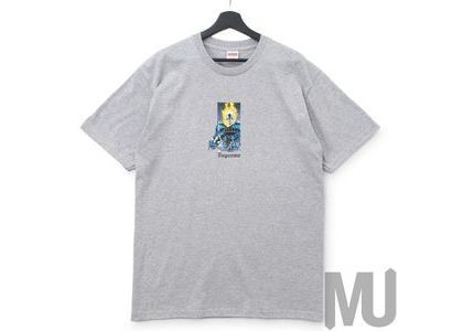 Supreme Ghost Rider Tee Heather Greyの写真