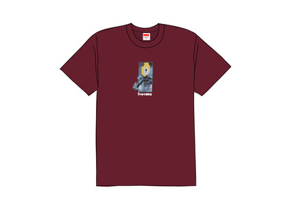 Supreme Ghost Rider Tee Burgundyの写真