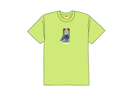 Supreme Ghost Rider Tee Neon Greenの写真