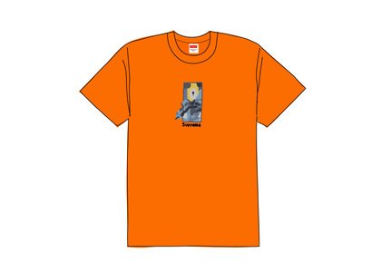 Supreme Ghost Rider Tee Orangeの写真