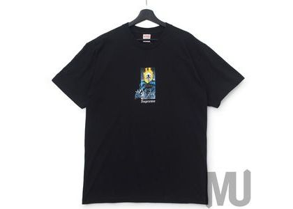 Supreme Ghost Rider Tee Blackの写真