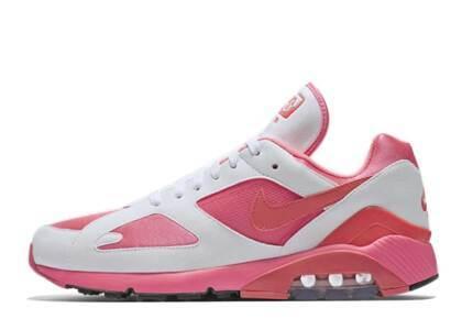 Comme Des Garcons × Nike Air Max 180  Laser Pink/Solor Red-Whiteの写真
