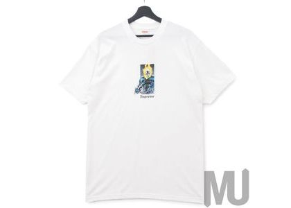 Supreme Ghost Rider Tee Whiteの写真