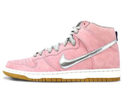 Concepts × Nike SB Dunk High Pro Pink/White/Metallic Silverの写真
