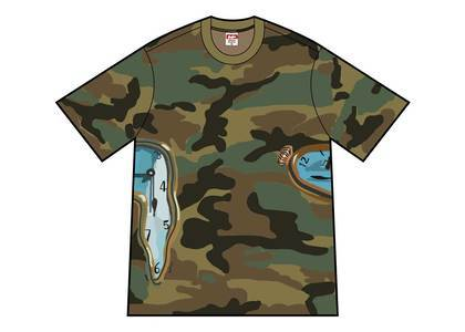 Supreme The Persistence Of Memory Tee Woodland Camoの写真