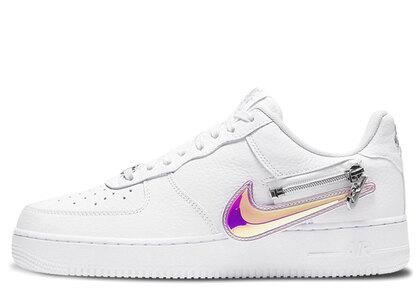 Nike Air Force 1 '07 Low Zip Swoosh Whiteの写真