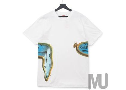 Supreme The Persistence Of Memory Tee Whiteの写真
