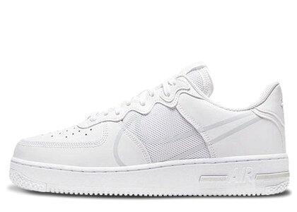 Nike Air Force 1 React Whiteの写真
