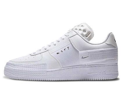 Nike Air Force 1-TYPE Whiteの写真
