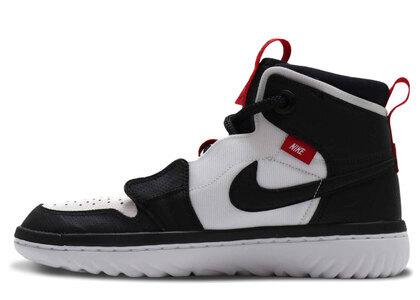 Nike Air Jordan 1 High React Black/University Red-Whiteの写真
