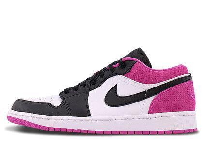 Nike Air Jordan 1 Low SE Black/Black-Active Fuchdiaの写真