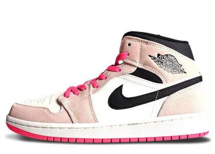 Nike Air Jordan 1 Mid SE Crimson Tint/Hyper Pink-Blackの写真