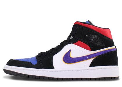 Nike Air Jordan 1 Mid SE Field Purple/White/Gym Redの写真