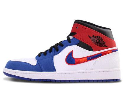 Nike Air Jordan 1 Mid SE White/Blueの写真